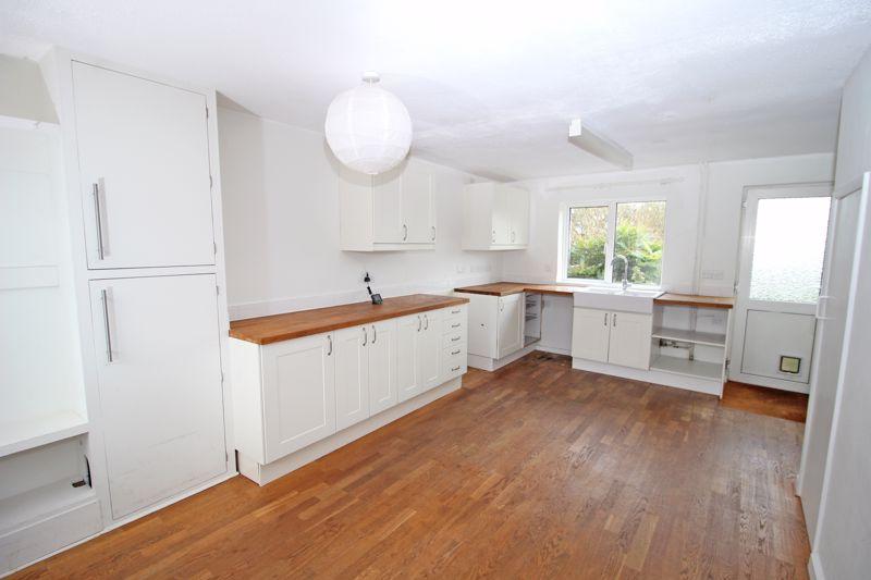 Modern Kitchen With Wooden Work Tops
