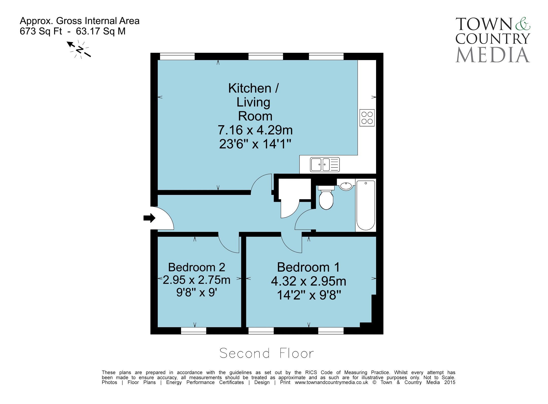New Marchants Passage Floor Plan