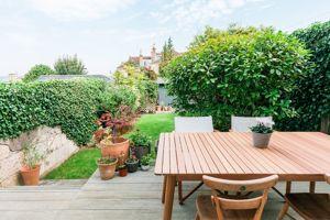 Outdoor Dining Area to Garden