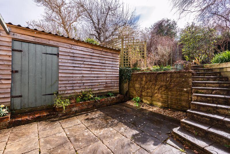 Garage & Lower Garden