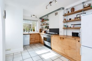 Kitchen With Range Cooker