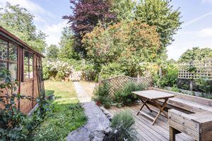 Rear Garden With Decked Patio