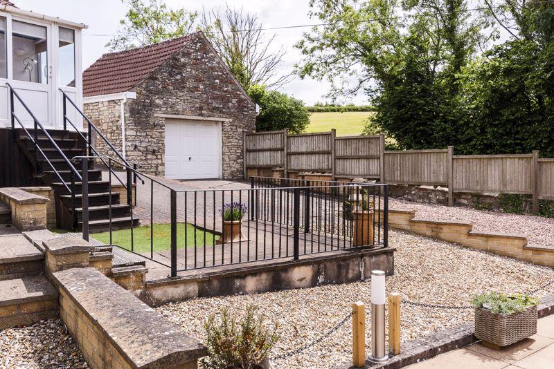 Garage adjacent to Annexe