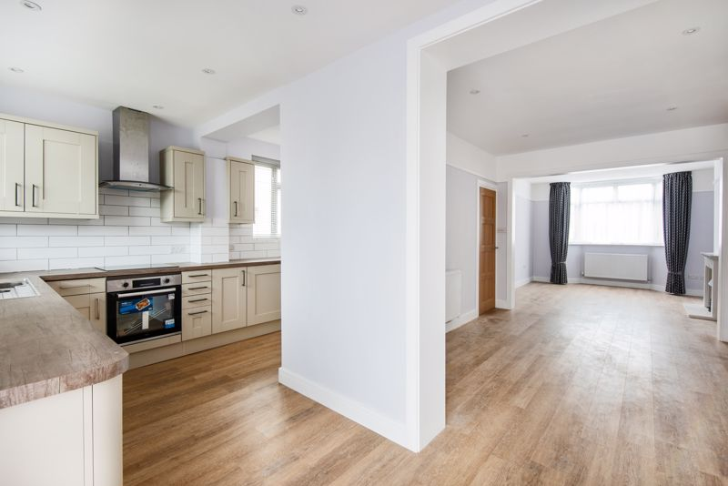 Open plan - view from kitchen