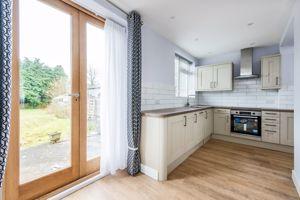 Kitchen - doors to garden