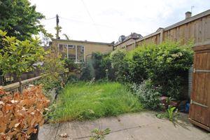 Garden with Garage