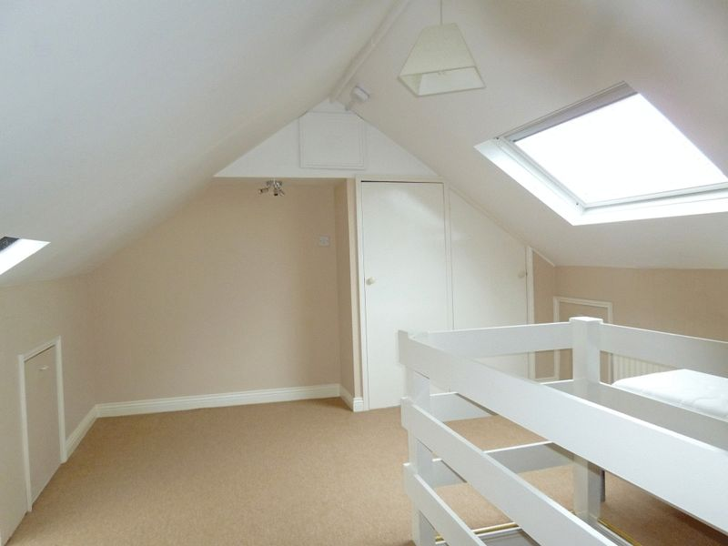 Bedroom in Loft with Views