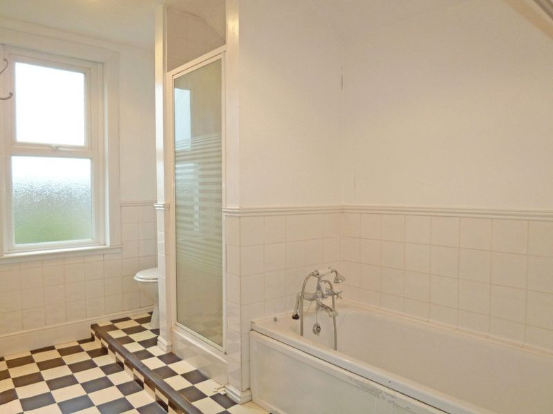 First Floor Bathroom with Bath & Seperate Shower E