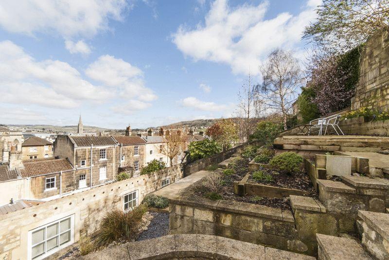 Terraced Garden to Rear