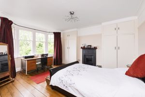 Bay Windowed Master Bedroom