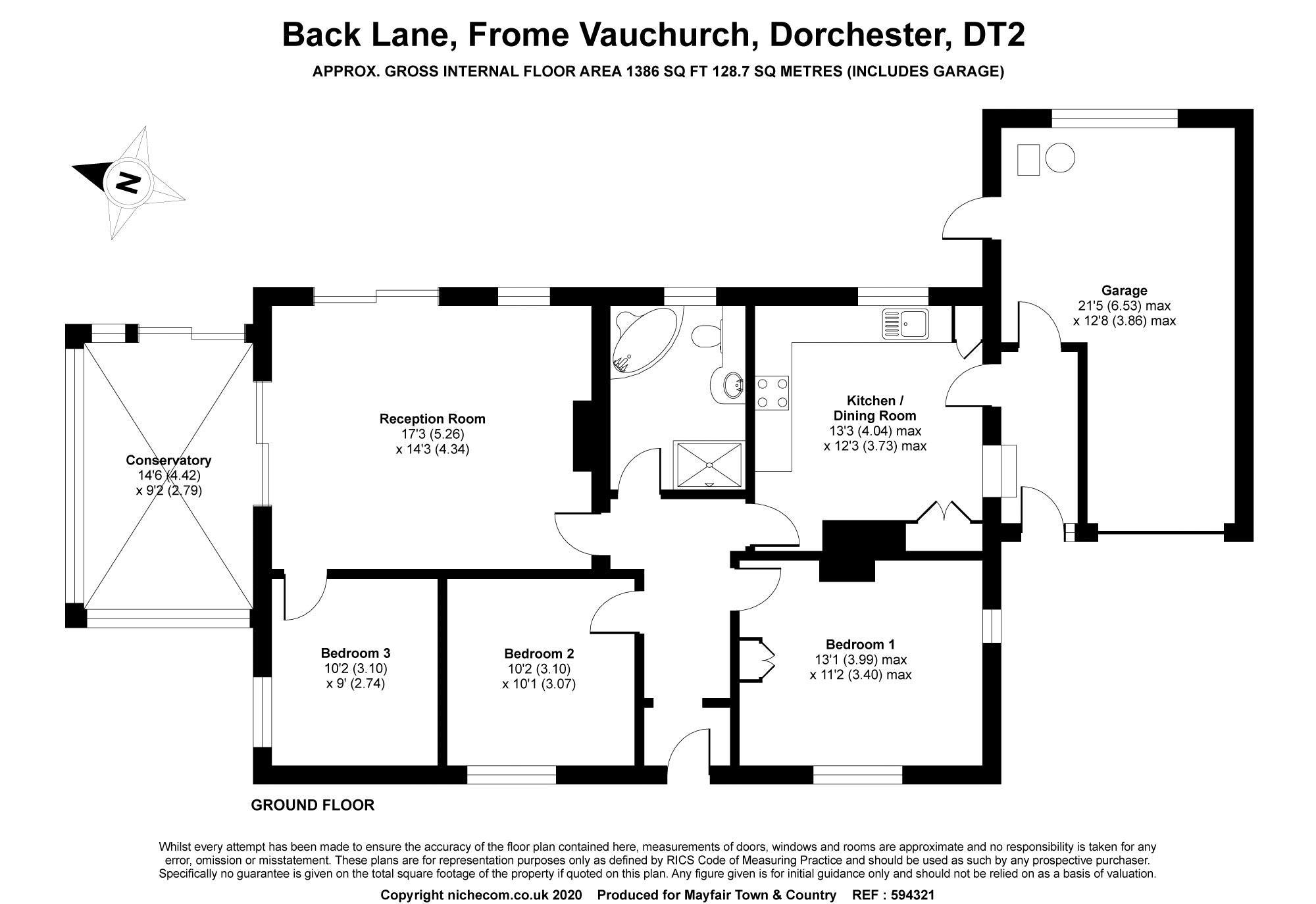 Back Lane Frome Vauchurch
