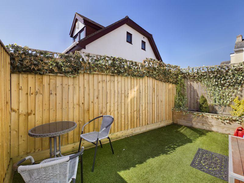 Enclosed Garden Area