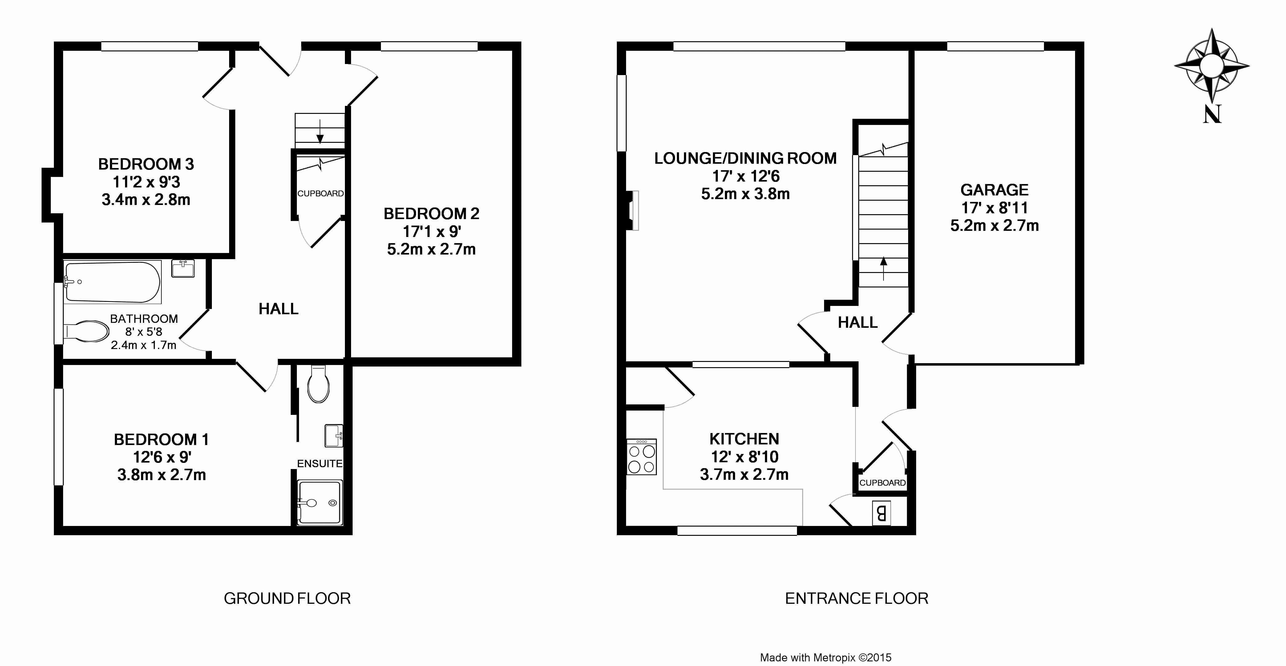 160 Penwill Way Floorplan