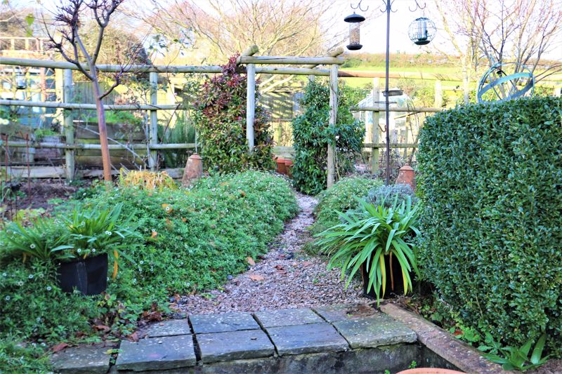 Pathway with Arch into Garden
