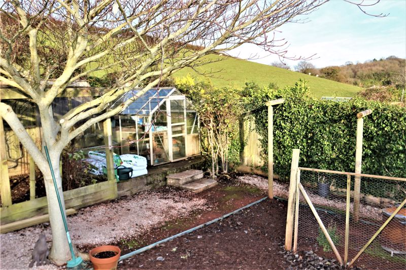 Greenhouse Backing onto Farm Land