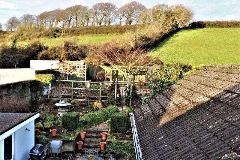 Overlooking Garden Backing Onto Farm Land