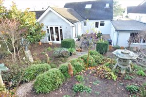 Rear Garden Looking Down Onto Rear of Property