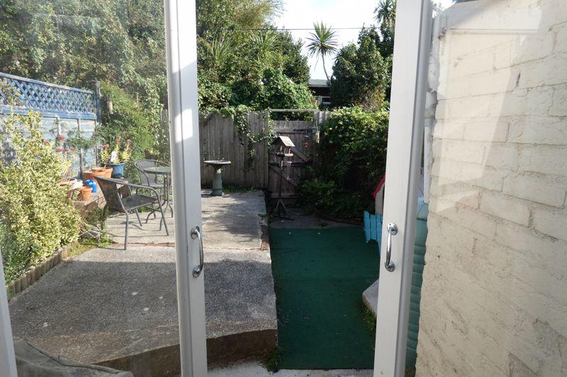 Double Doors Leading onto Garden