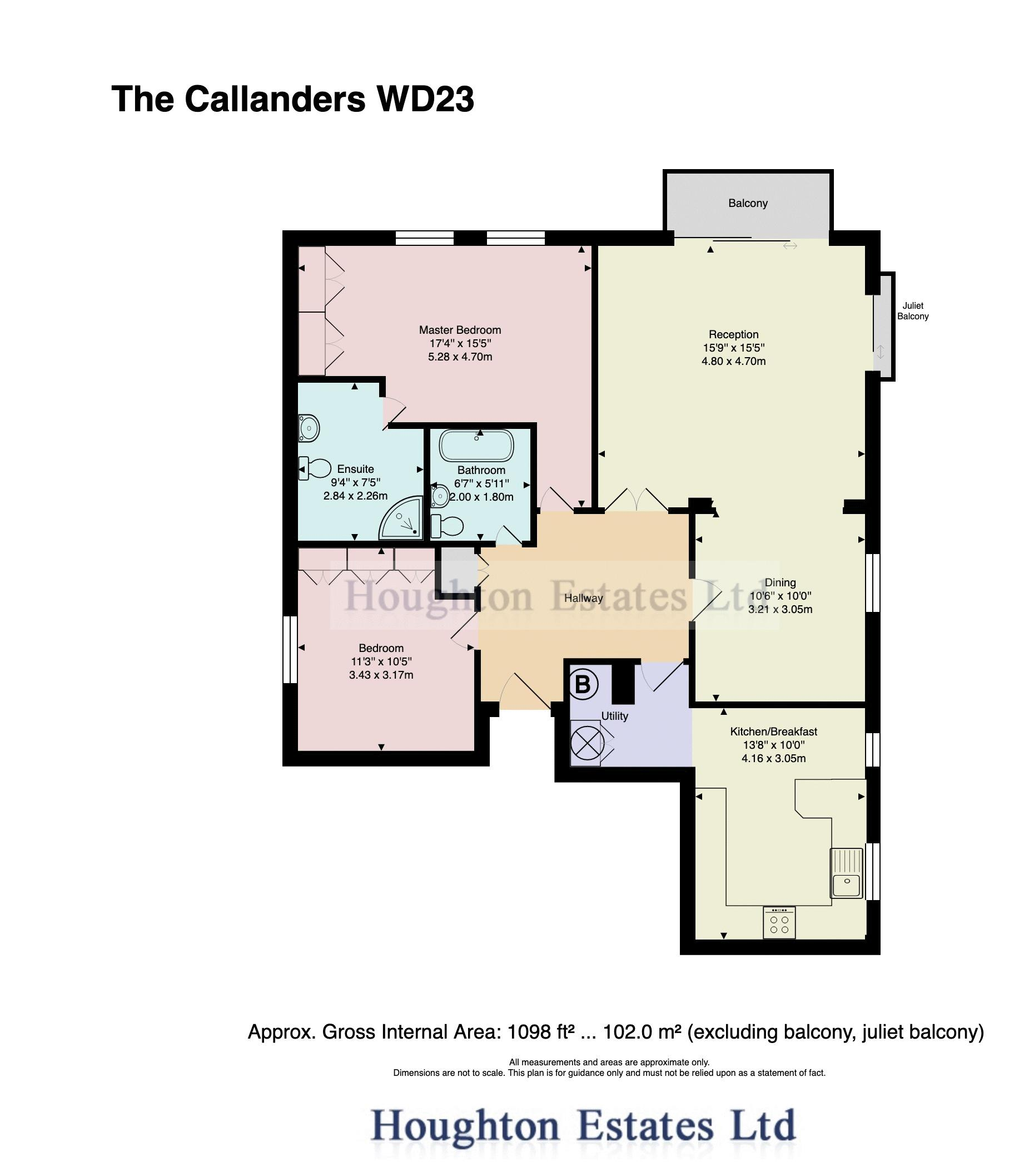 The Callanders  Heathbourne Road