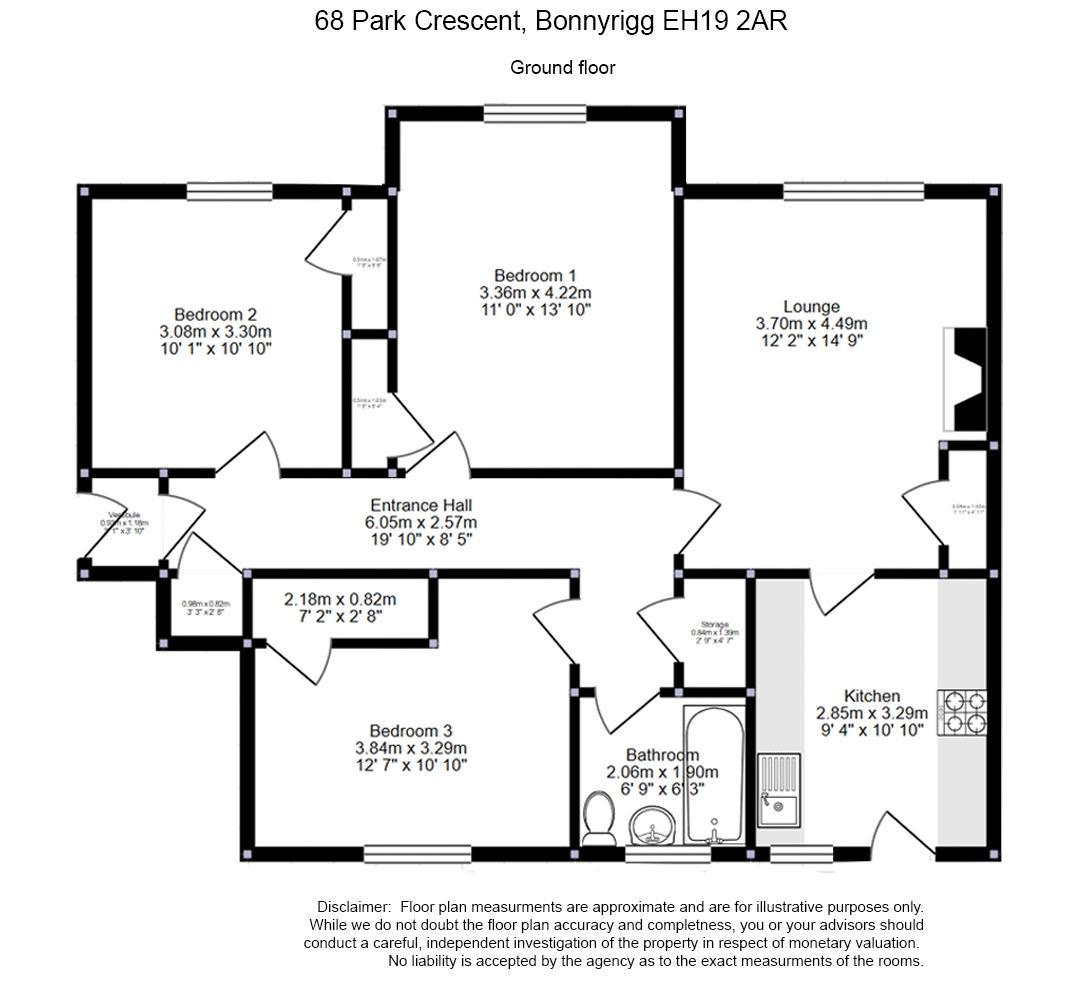 68 Park Crescent Floor Plan