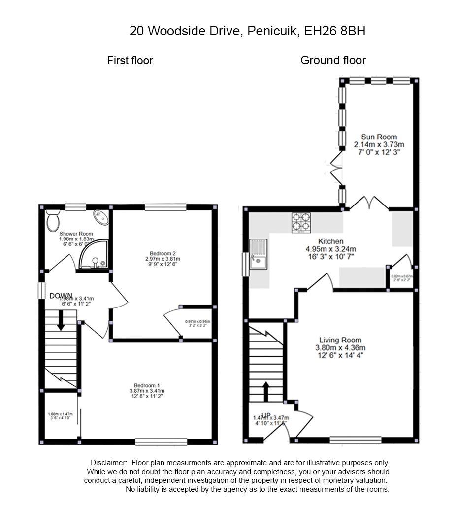 20 Woodside Drive Floorplan