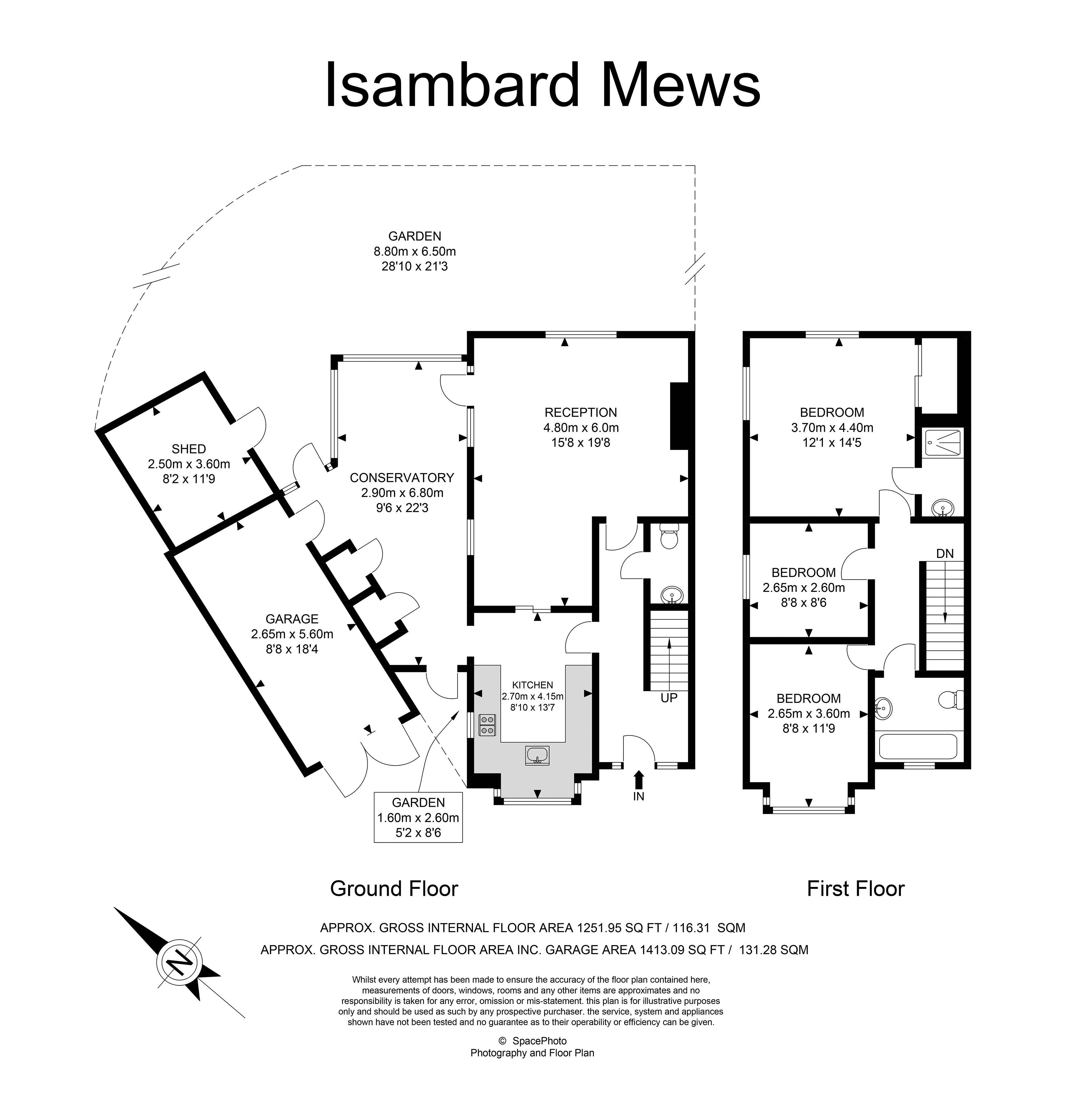 Isambard Mews, Isle of Dogs