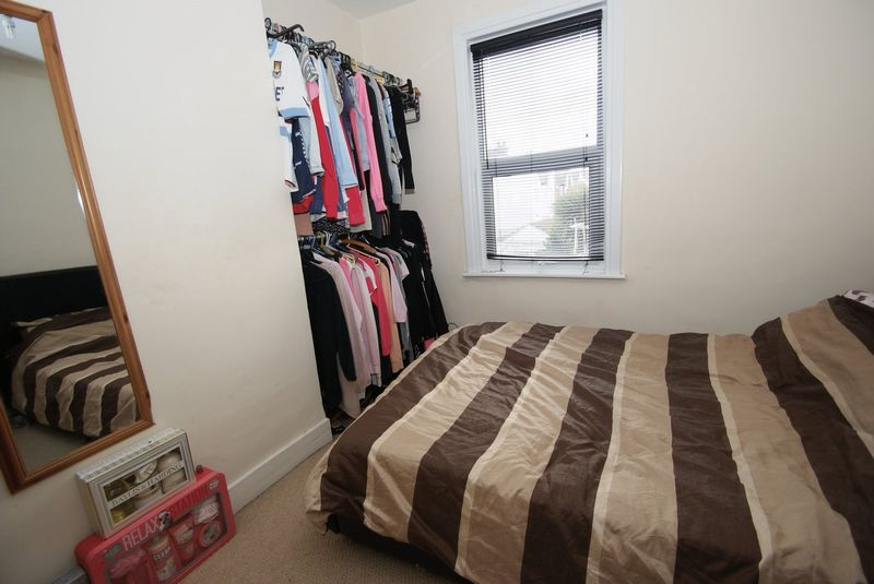 First floor flat Bedroom