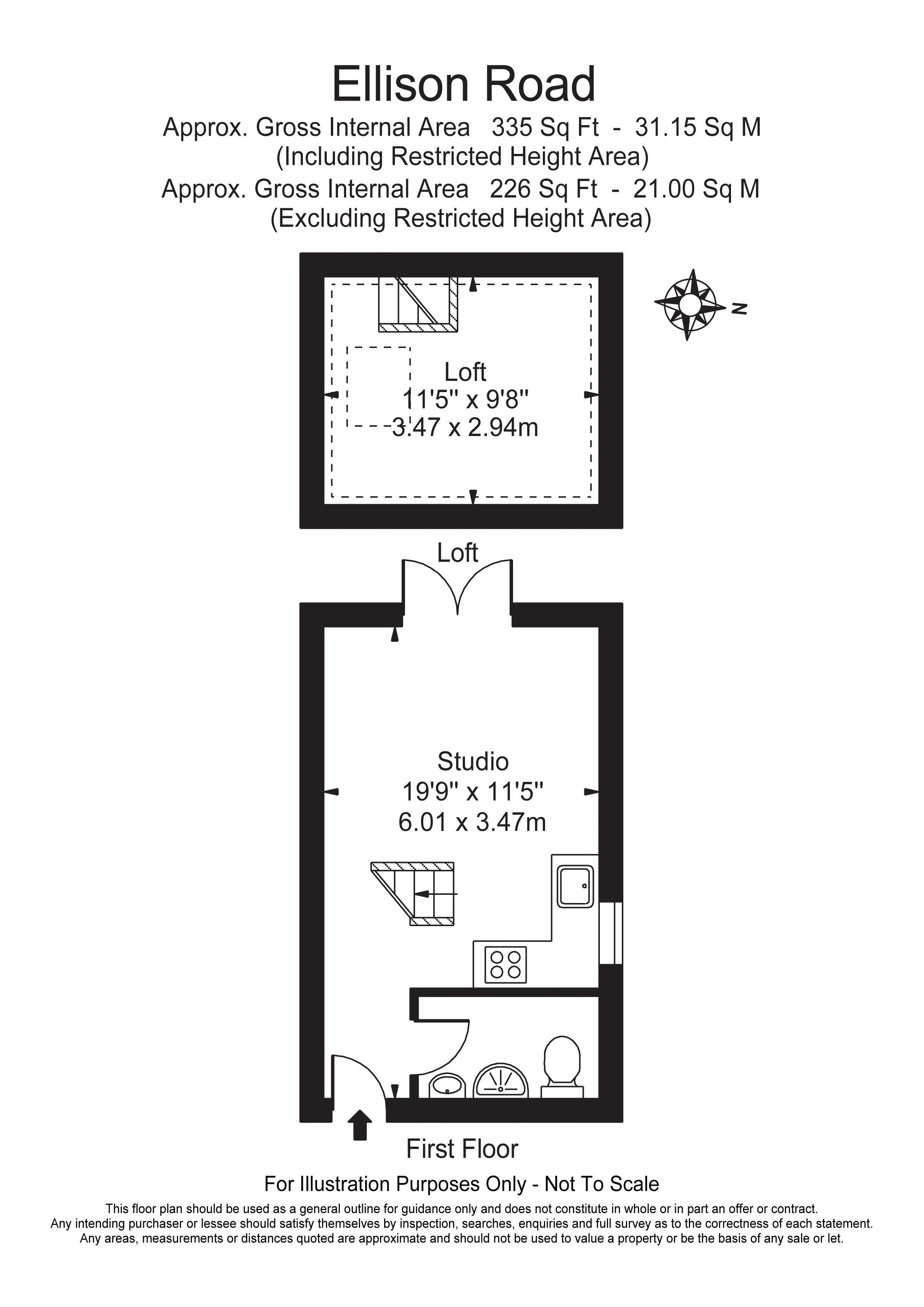 Ellison Road (28D) Floorplan