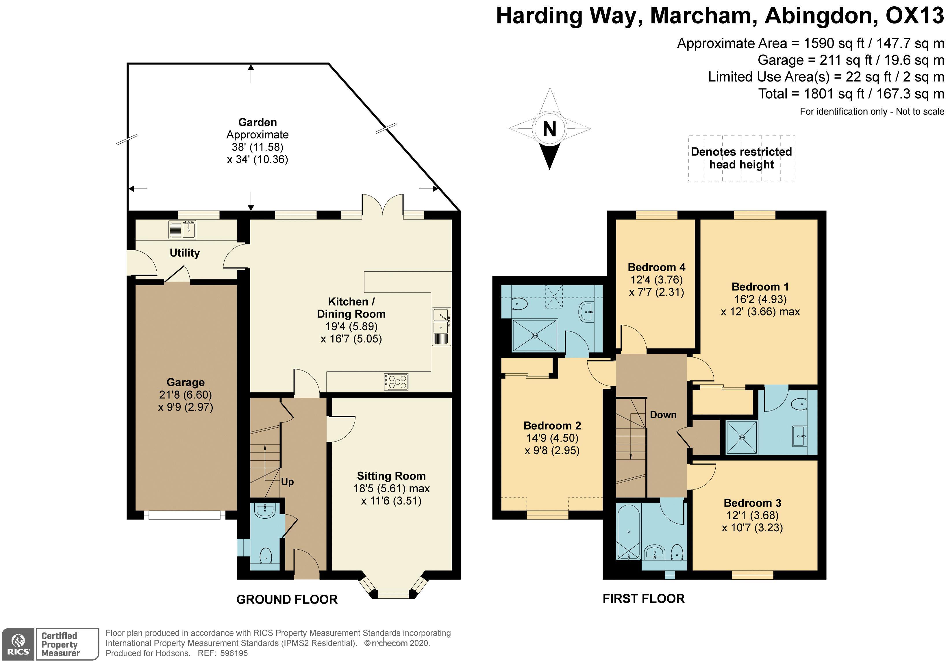 Harding Way Marcham