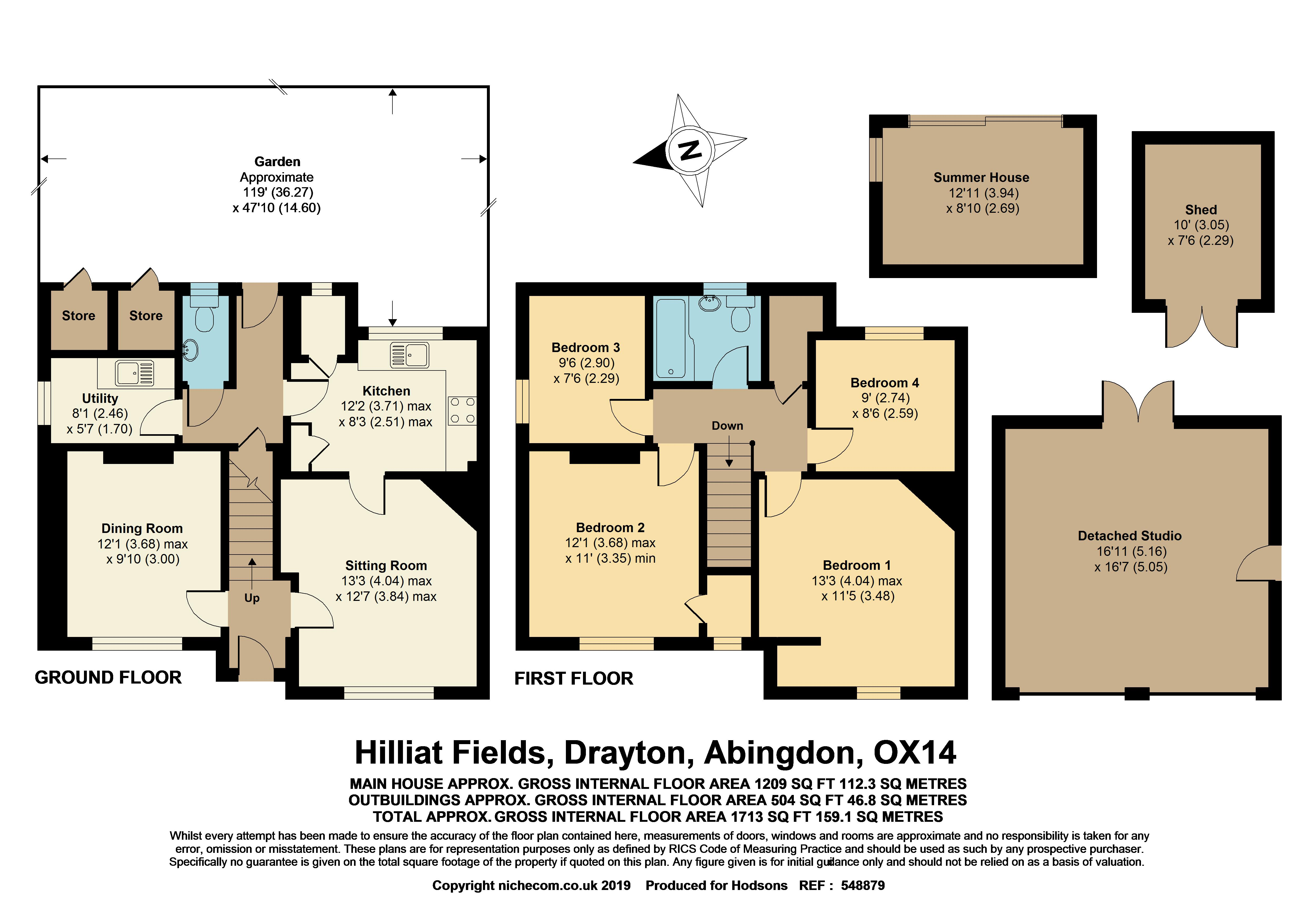 Hilliat Fields Drayton