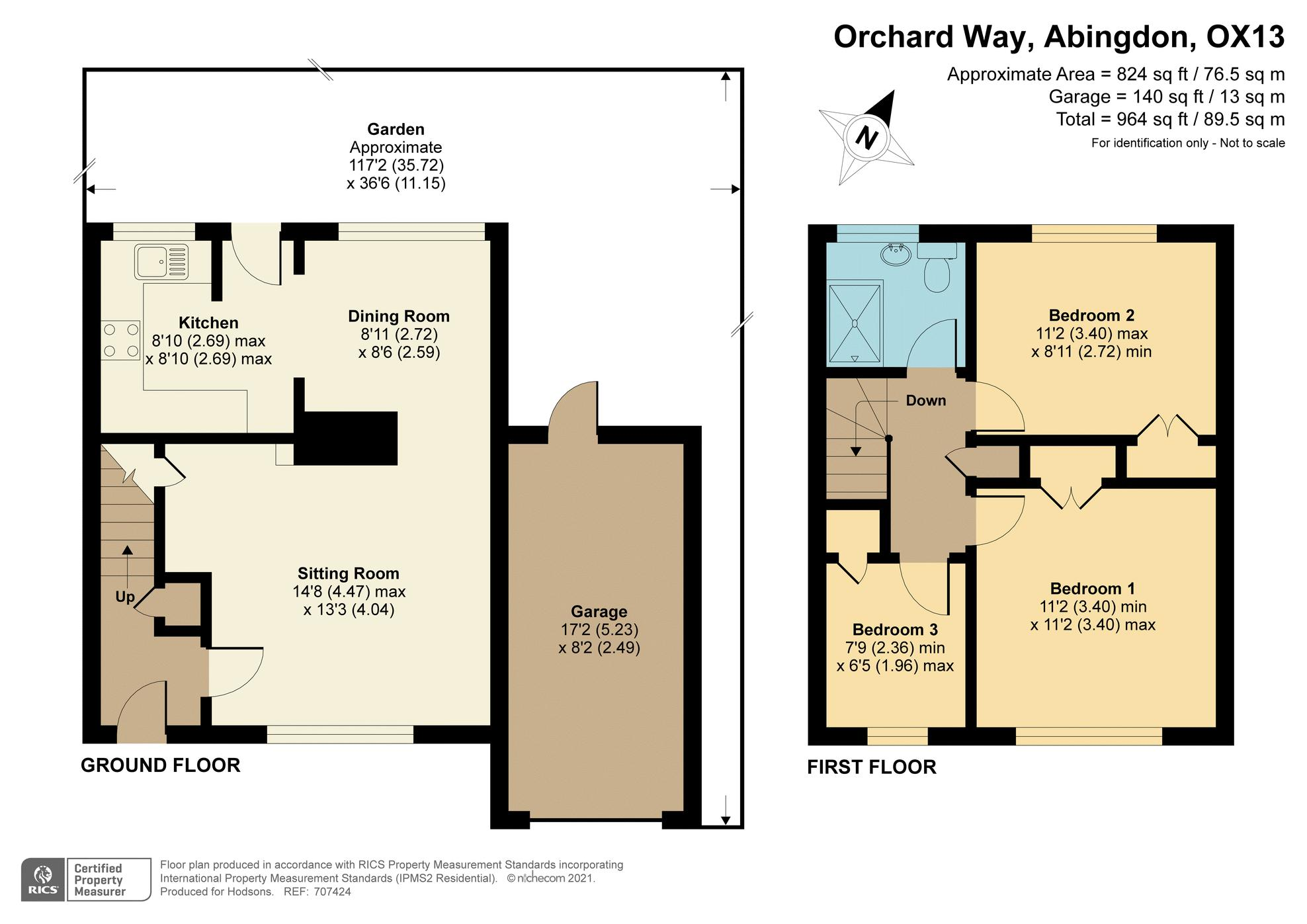 Orchard Way Marcham