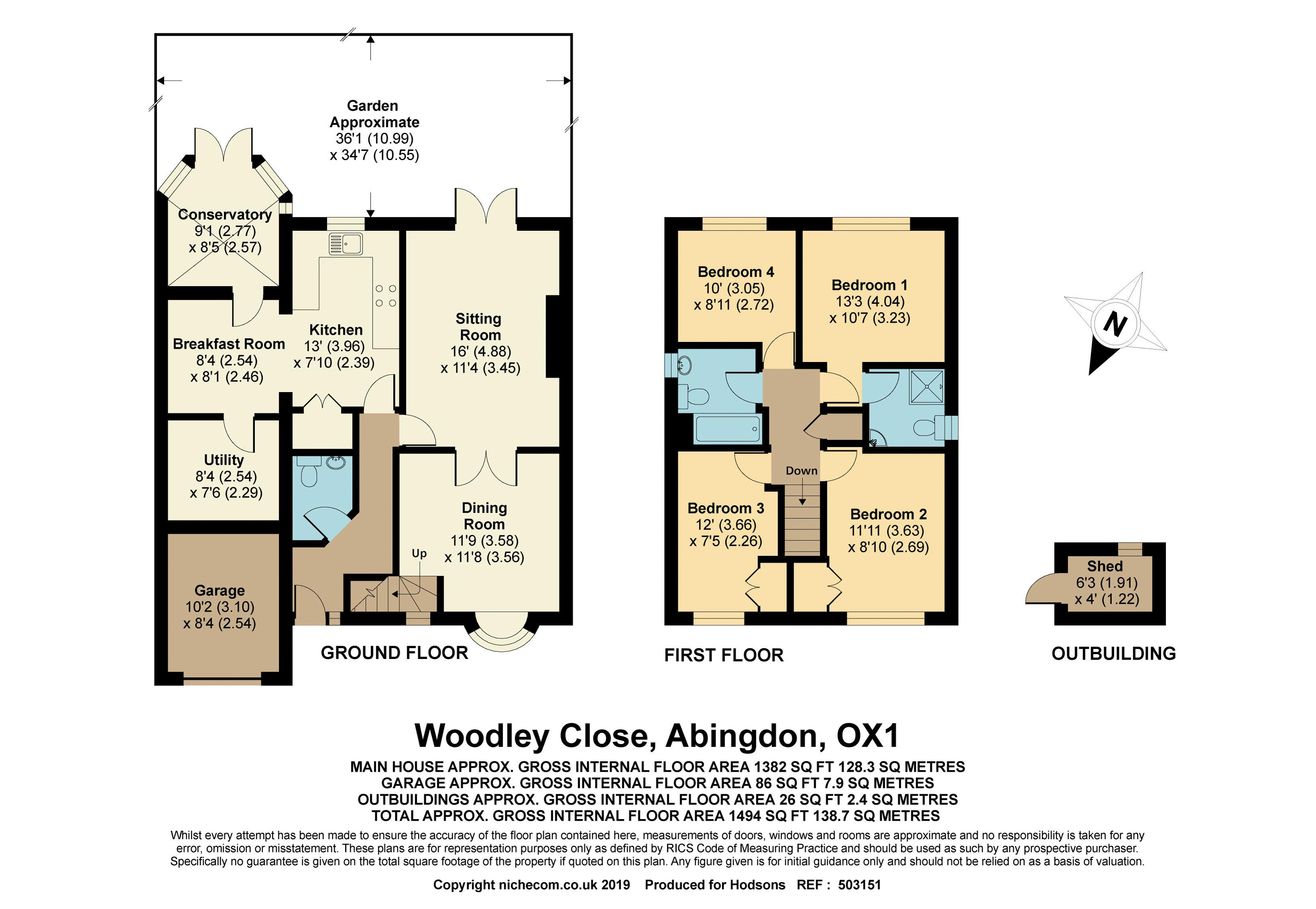 Woodley Close