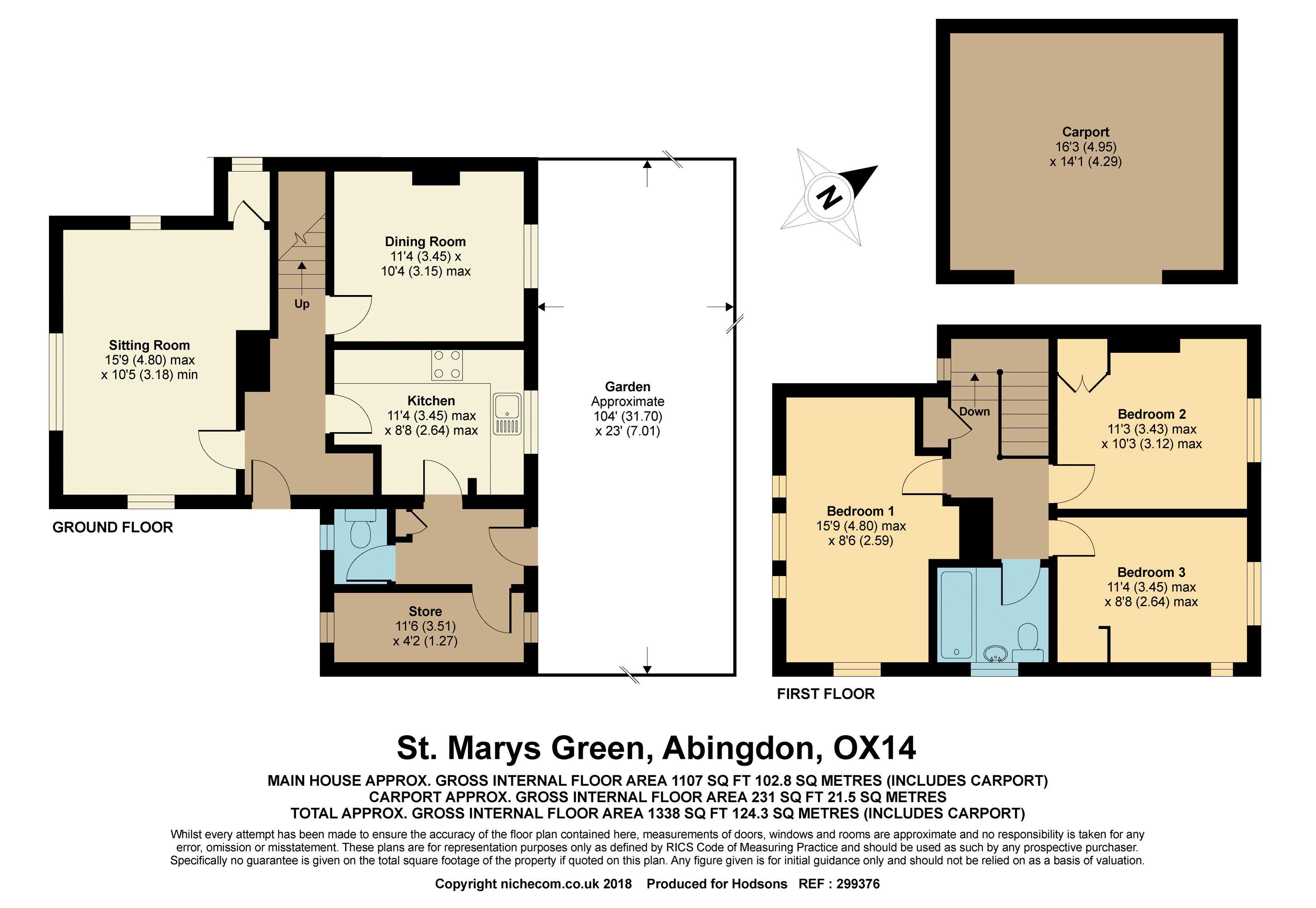 St Marys Green, Abingdon - Hodsons Estate Agents
