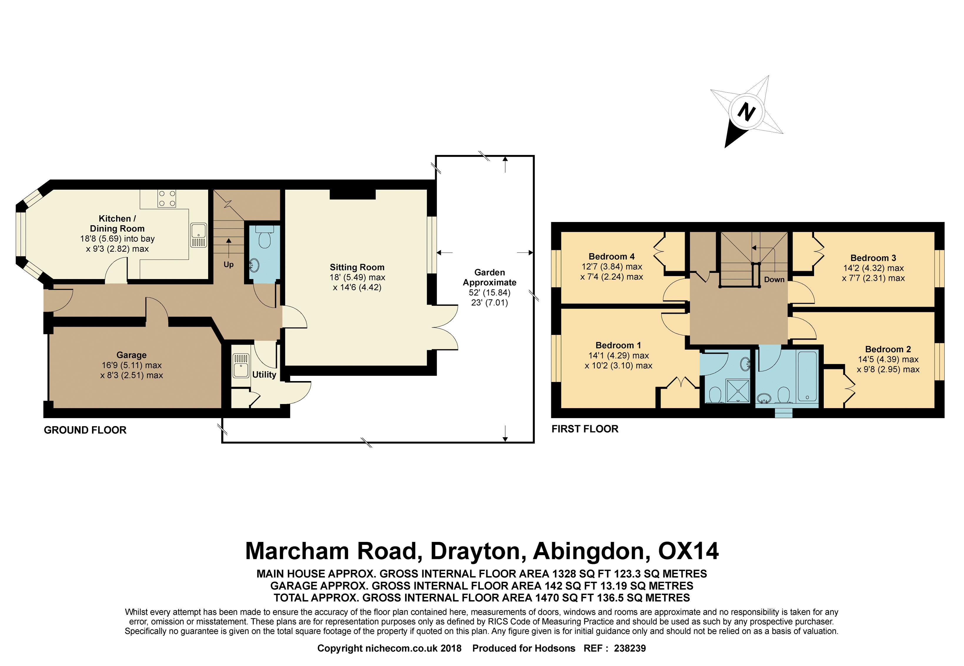 Marcham Road Drayton