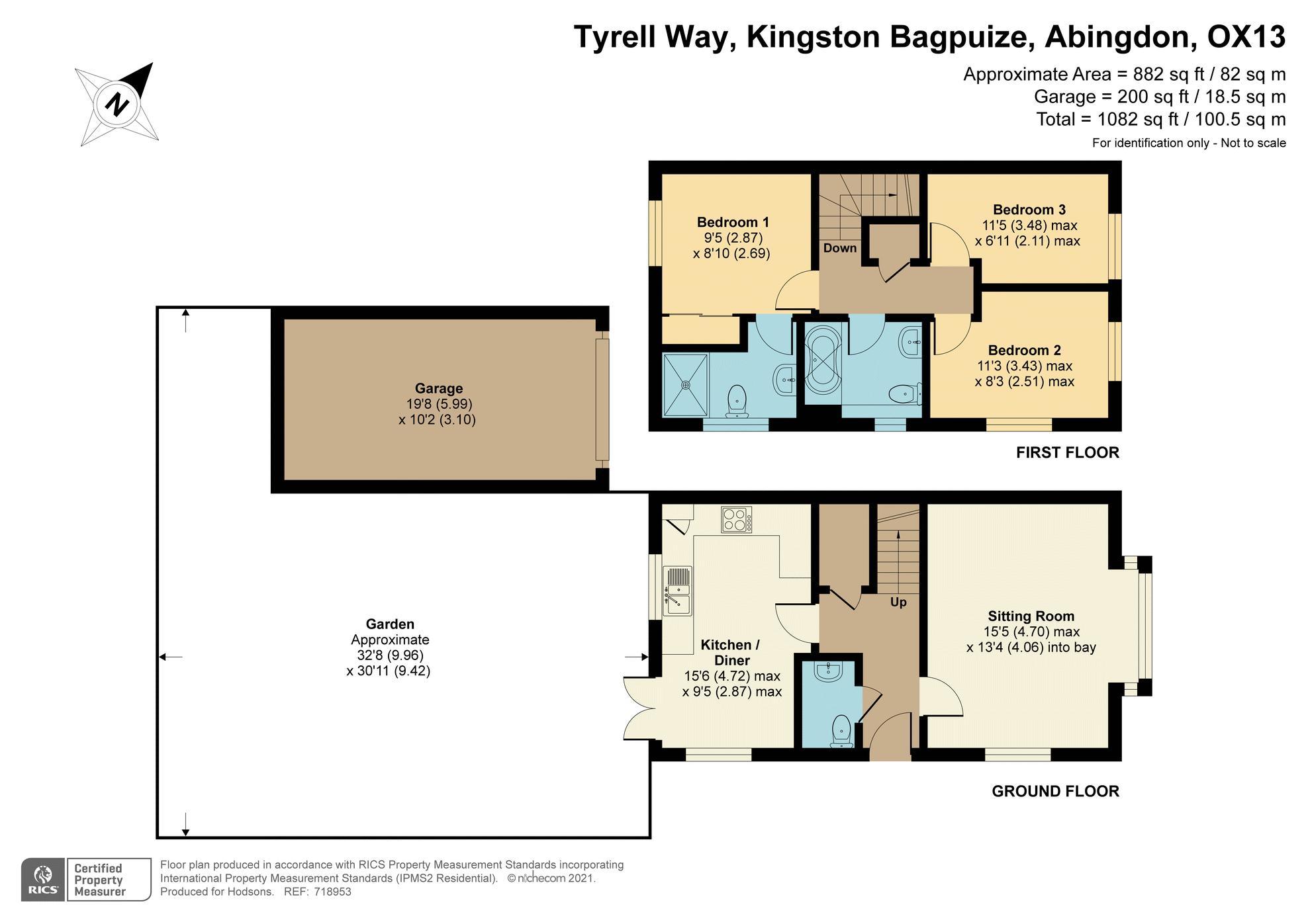 Tyrell Way Kingston Bagpuize
