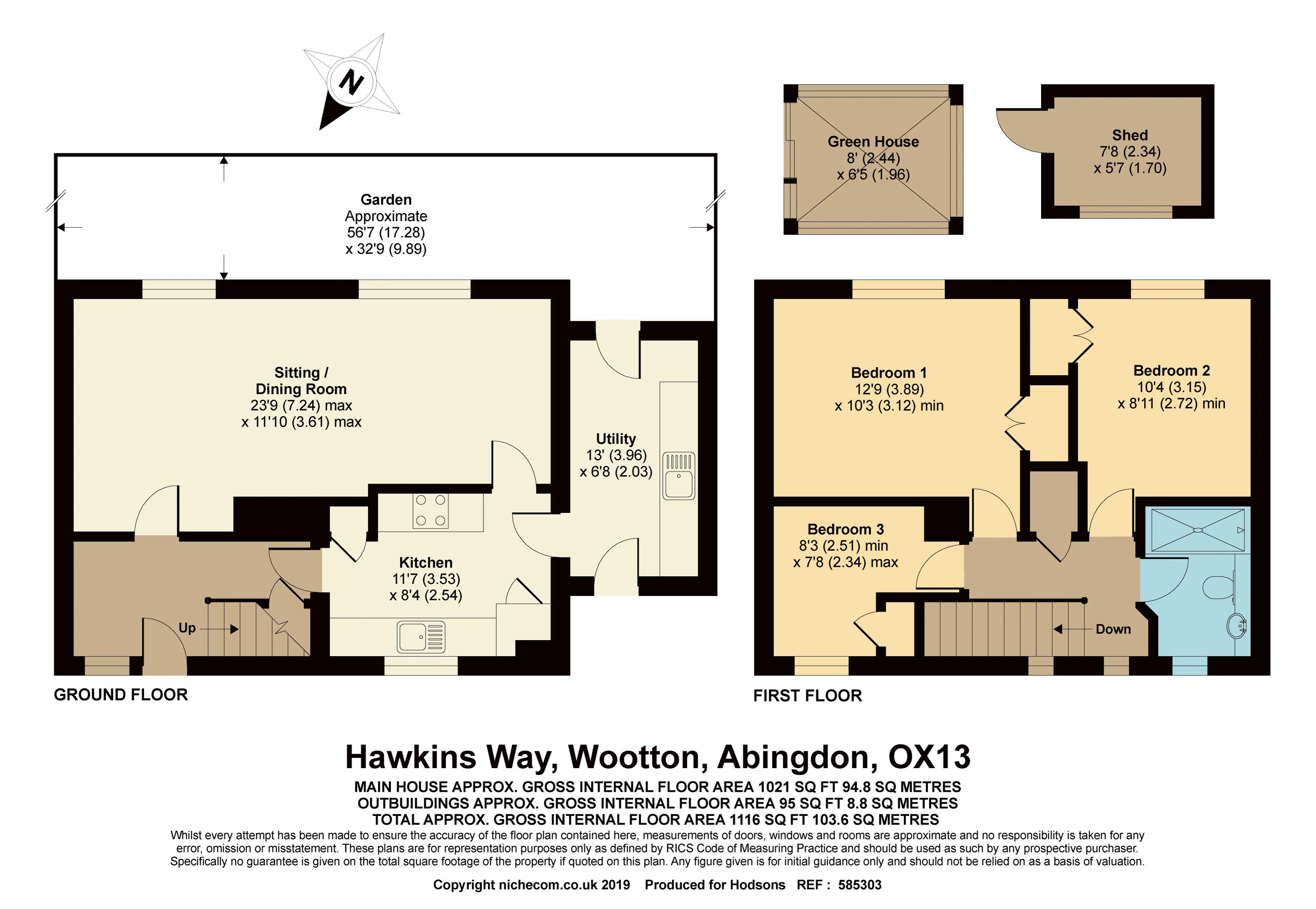 Hawkins Way Wootton