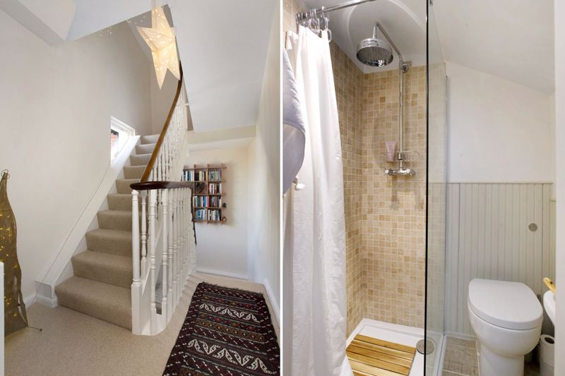 Landing and 2nd Floor Shower/WC