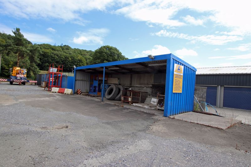 Cillefwr Road West, Cillefwr Industrial Estate, Alltycnap Road, Johnstown