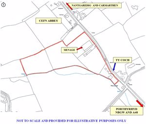 Llanddarog Road Cefn Abbey