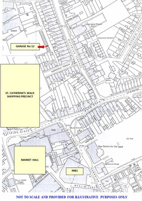 Lock-Up Garage at Dog Lane at rear of Waterloo Terrace