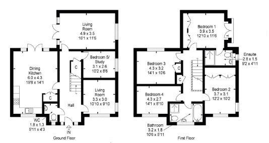 2 Quarry Cres Floorplan