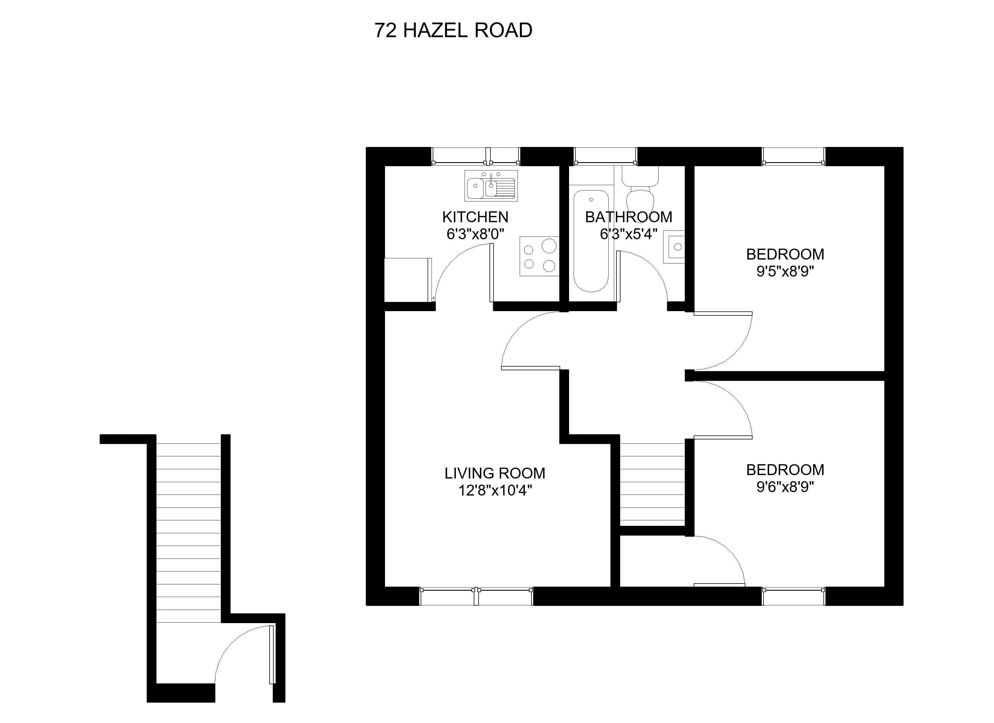 72 Hazel Road Floorplan