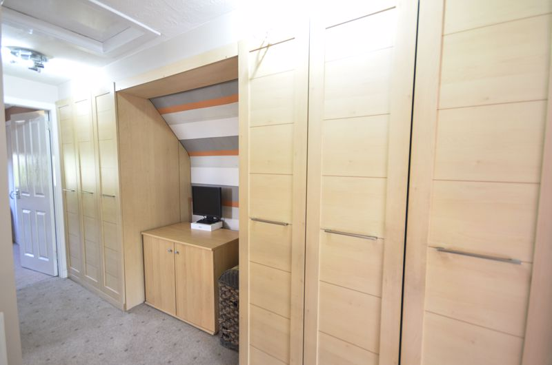 Upper Hallway Storage
