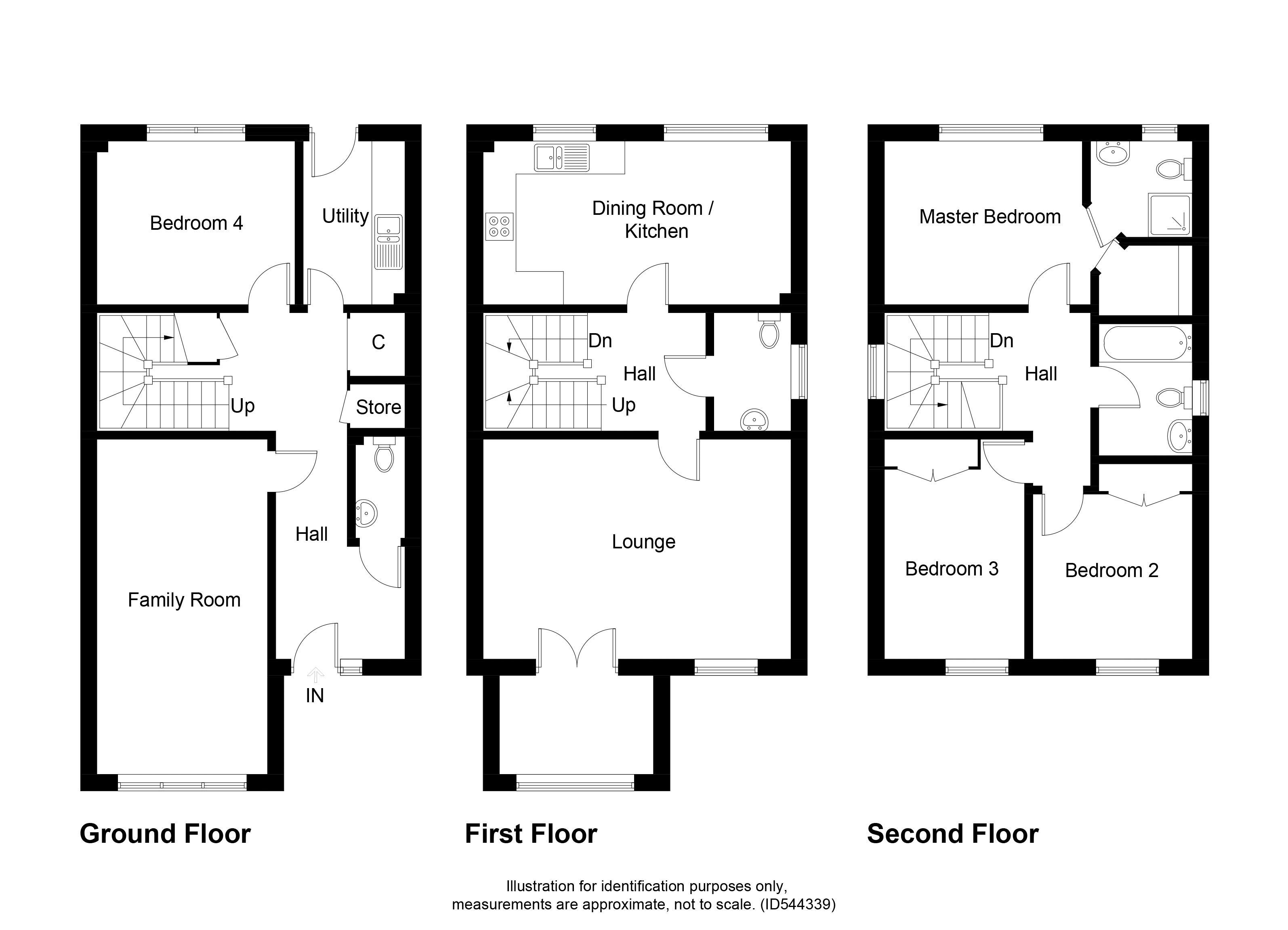 94 Lochan Road Floorplan