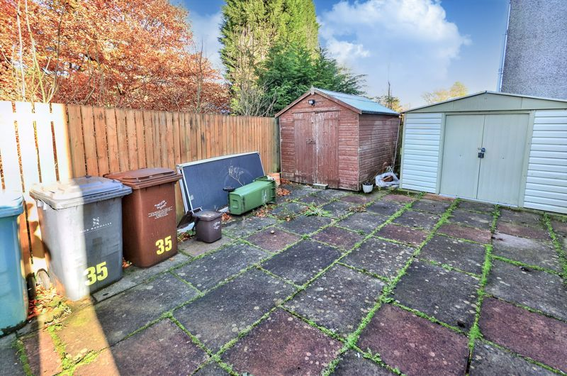 Shared back garden
