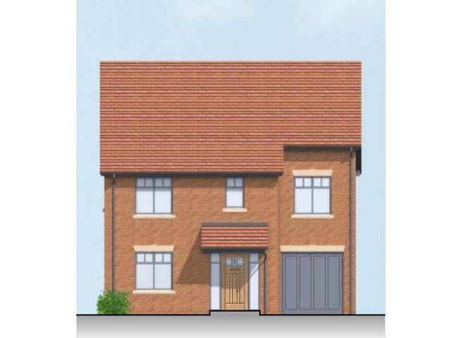 CGI Proposed Front Elevation Portland Road