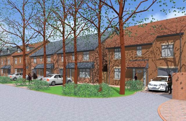 CGI Proposed Front Portland Road