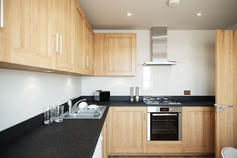 CGI Kitchen - Berkley Close