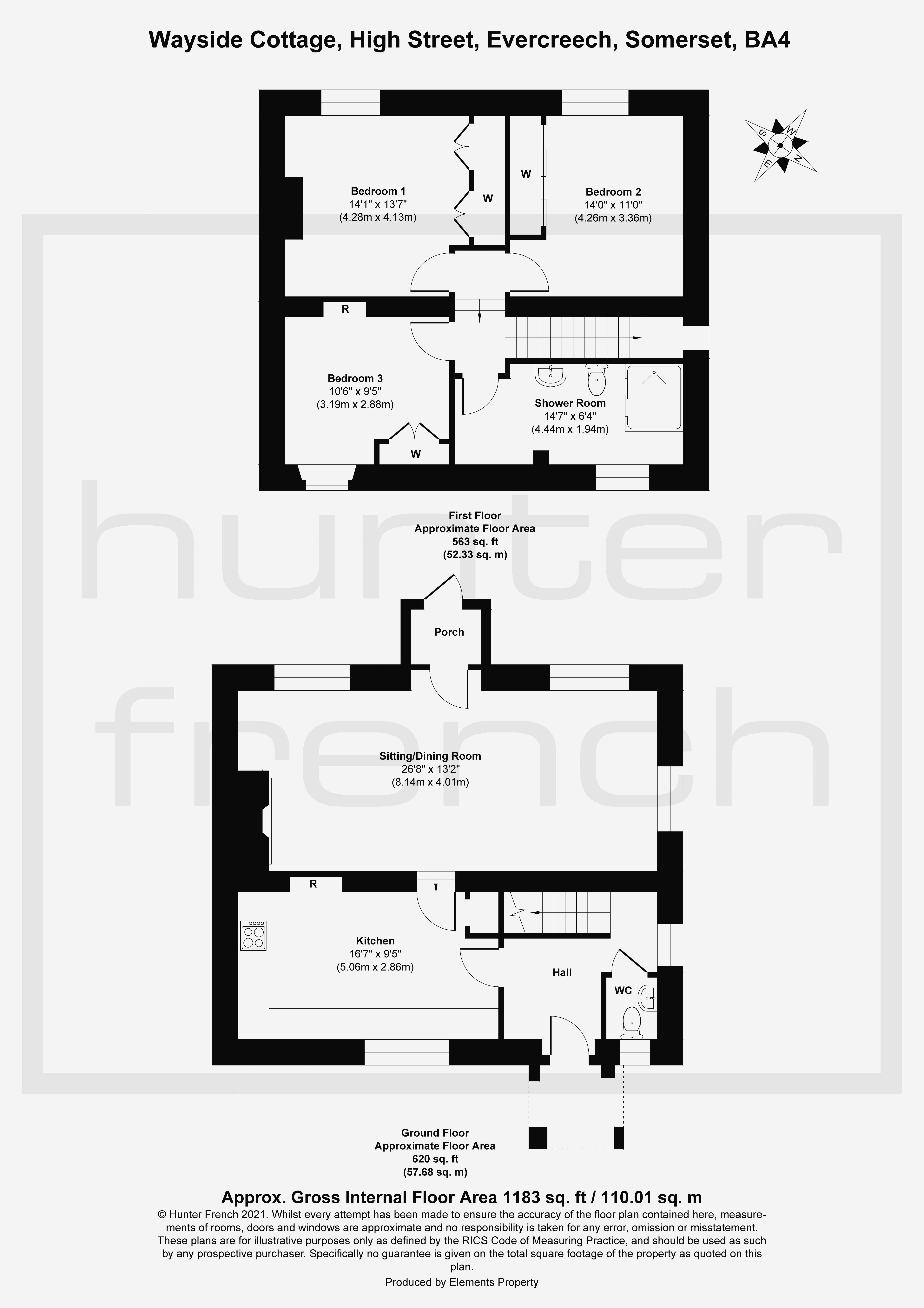 Wayside Cottage Floorplan