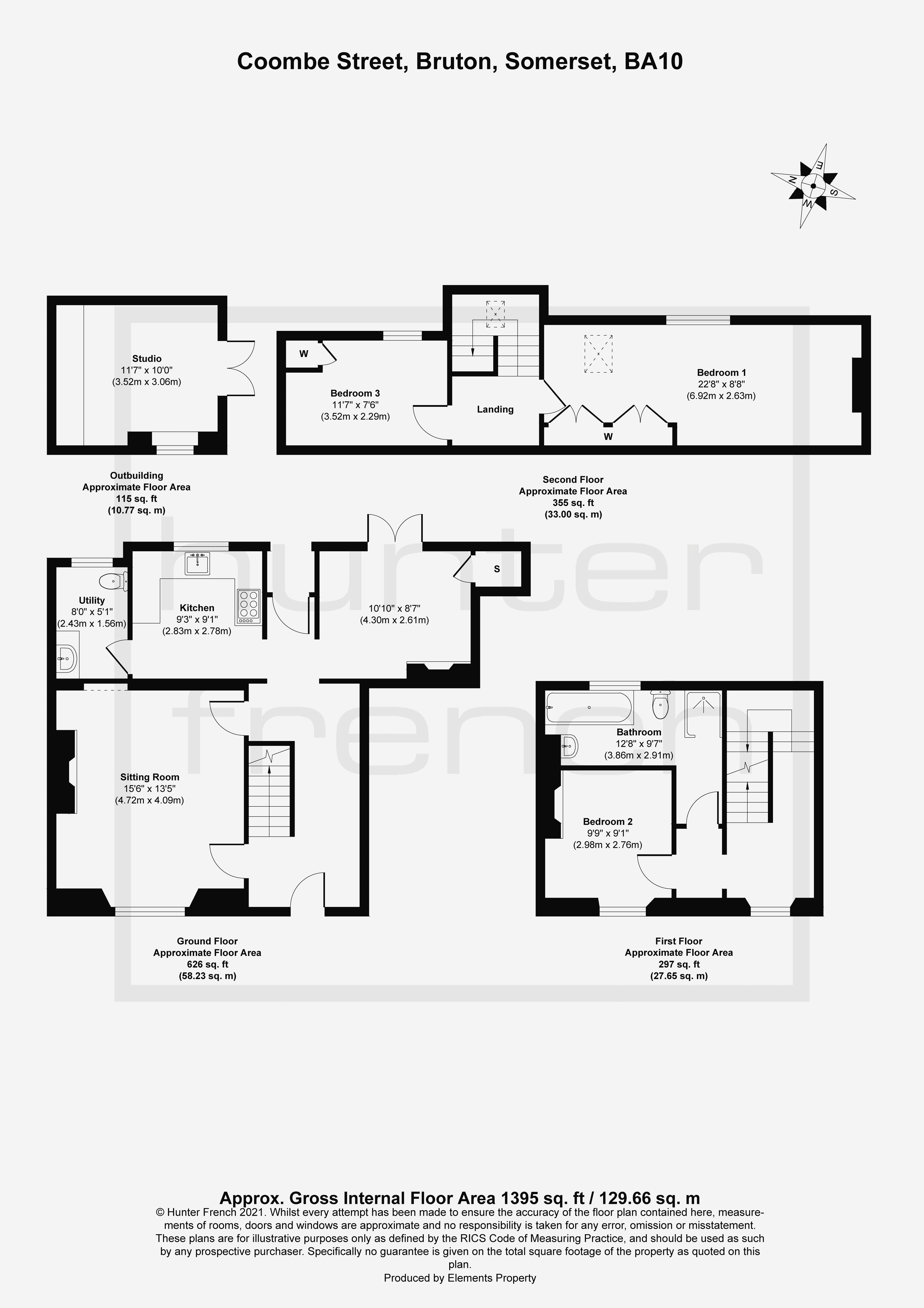 7 Coombe Street Floorplan